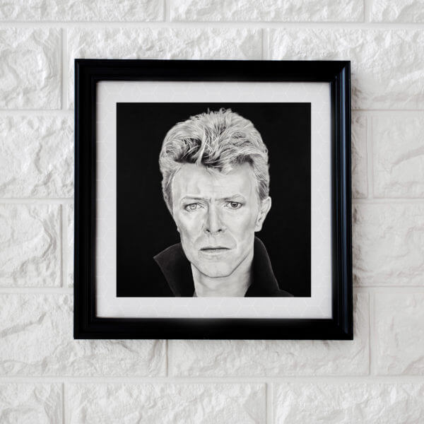 David Bowie portrait | Original artwork