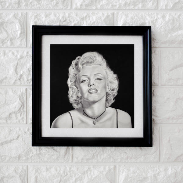 Marilyn Monroe Portrait | Marilyn Portrait | Sketch