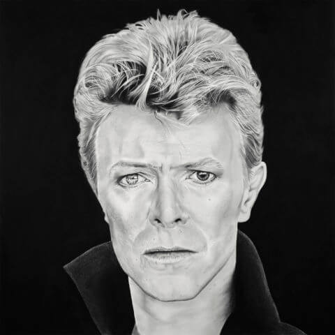 David Bowie | Celebrity Portrait | Original Fan Art