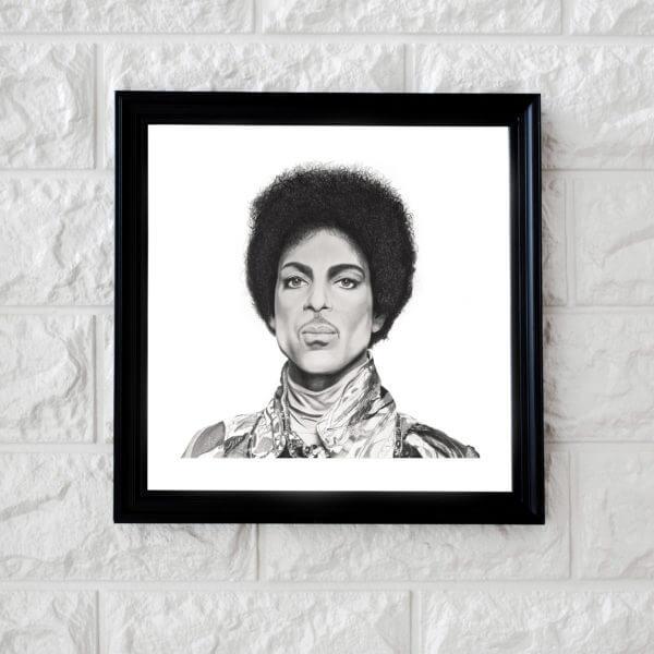 Original Prince Portrait | Celebrity portrait | Fan art