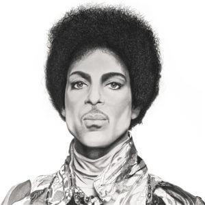 Prince | Celebrity Portrait | Original Fan Art