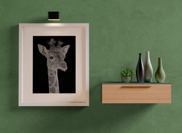 Tuft | African wildlife art